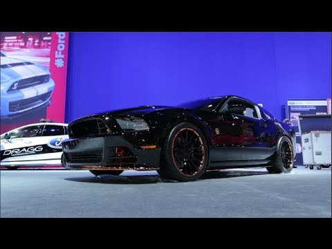 Mustang Gt 0 60 >> Custom 2014 Ford Mustangs - 2013 SEMA Show - YouTube
