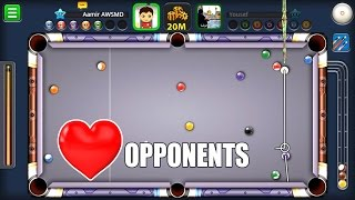 8 Ball Pool- BEST OPPONENTS EVER- Paris Chateau + Seoul Tower 25M (Schoolboy errors! )