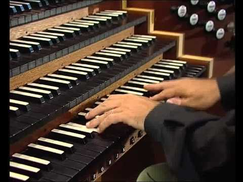 Felix Mendelssohn, Sonate op. 65 n. 4 for organ, played by Luca Scandali