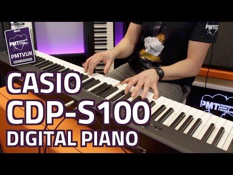 Casio CDP-S100 Digital Piano - Review & Demo