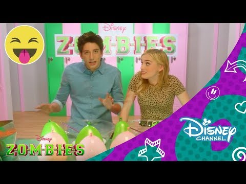 Zombies Challenge Disney Channel Oficial Youtube