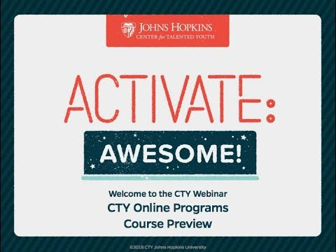 Online Programs Course Preview