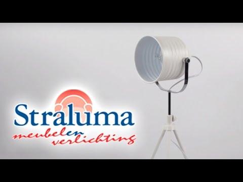 bureaulamp studio wit driepoot straluma verlichting