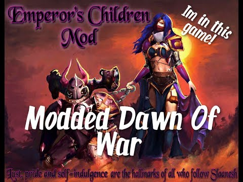 Dawn Of War Soul Storm Emperor's Children Mod