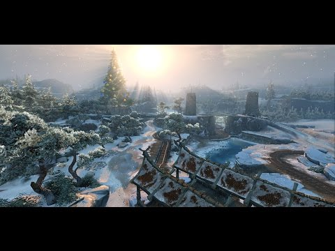 видео: panzar / Новая карта ice valley