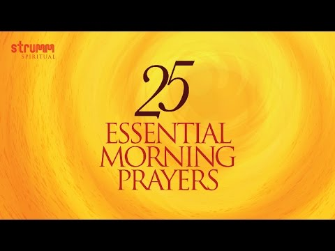25 Essential Morning Prayers Jukebox