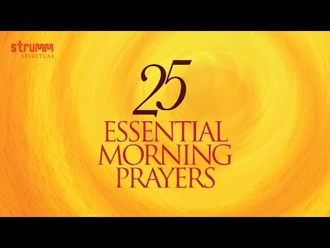 25 Essential Morning Prayers I Jukebox