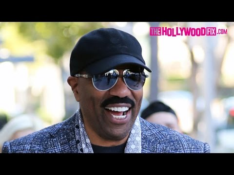 Steve Harvey Goes Shopping At The Wine Merchant In Beverly Hills 1.25.16