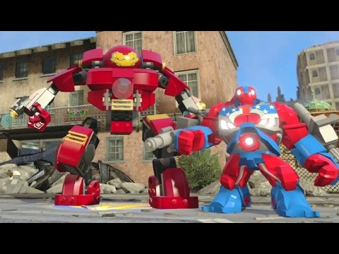 LEGO Marvel's Avengers - All Playable Characters + Gameplay (Free Roam Showcase)