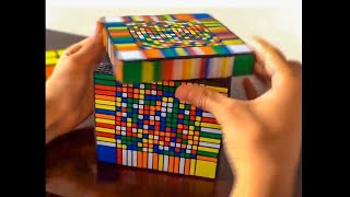 he solved this rubix's cube in 5 seconds...
