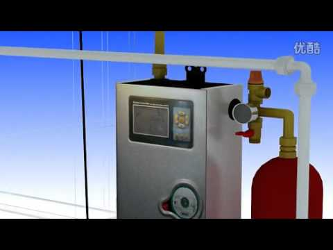 Split pressurized solar water heater system installation Vidio .flv ...