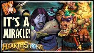 MIRACLE ROGUE LIVES AGAIN! (It's A Miracle!) - Rise of Shadows Hearthstone