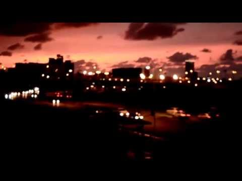 Red sunset from Tripoli