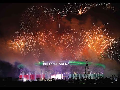INC Centennial Fireworks @ The Philippine Arena [July 27, 2014]