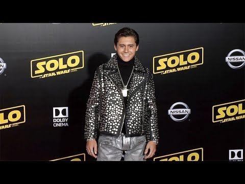 "Isaak Presley ""Solo: A Star Wars Story"" World Premiere Red Carpet"
