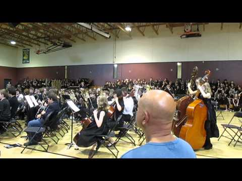 Flight of the Thundrebird by Richard Saucedo, Rosemont Ridge Middle School band