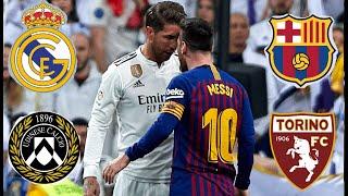 Реал Мадрид-Барселона / Удинезе-Торино прогноз на футбол сегодня. Ставки на спорт.