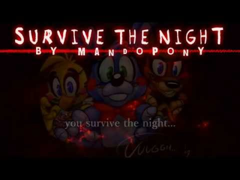 """[KARAOKE] """"Survive the Night"""" - Five Nights at Freddy's 2 song by MandoPony"""