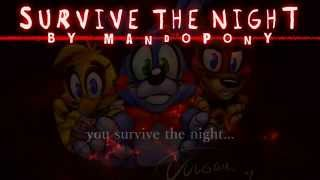 karaoke survive the night five nights at freddy s 2 song by mandopony