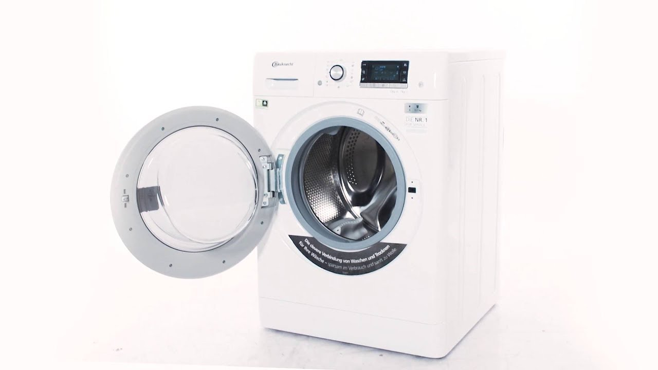 Bauknecht watkprime vaske tørremaskine youtube