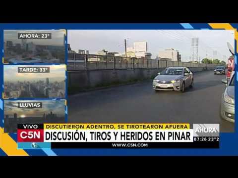 C5N - Policiales: Discusión, tiros y heridos en Pinar