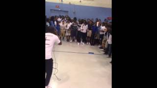yung gordon djghost djtight performing live at north dade middle