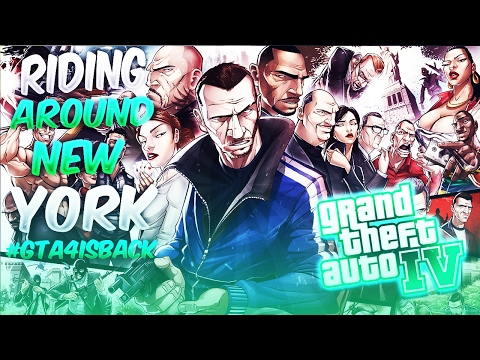 GTA IV ONLINE - RIDING AROUND NEW YORK (GRAND THEFT AUTO IV IS BACK) #GTAINTHEHOOD