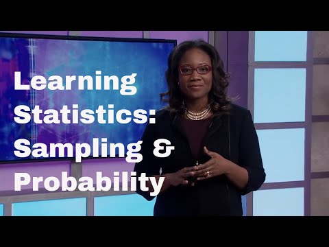Sampling & Probability | Learning Statistics: Concepts and Applications in R | The Great Courses