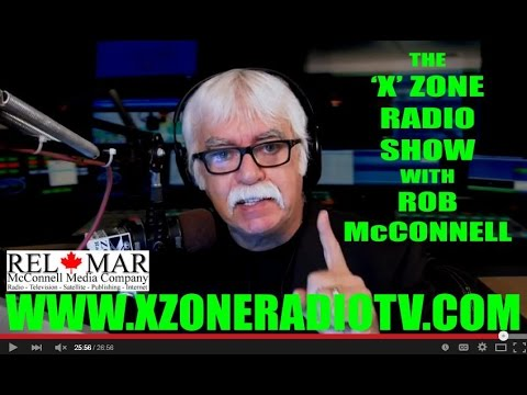 The 'X' Zone Radio Show with Rob McConnell - Guest: AMANDA CURRAN