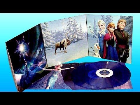 Lp Disney Frozen Soundtrack Deluxe Edition Vinyl Record 12
