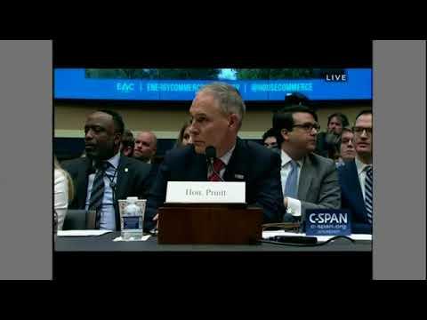 Rep. Dingell (MI) goes after EPA Scott Pruitt