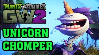 Plants VS Zombies 2 3D - Hoa Quả Nổi Giận 2 3D - Unicorn Chomper Siêu Đẹp Và Siêu Mạnh