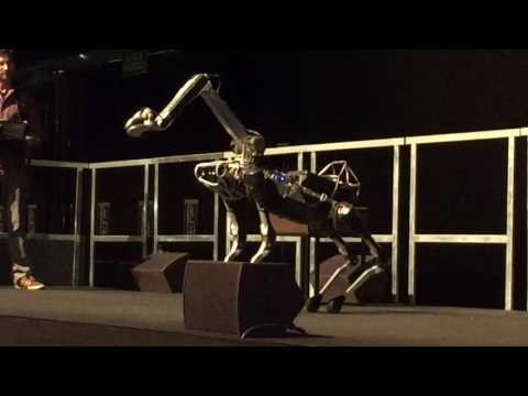 Download Youtube: Boston Dynamics Spot Mini demo at NIPS 2016 in Barcelona