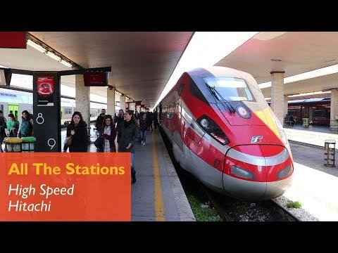 High Speed Harmony - Hitachi/Bombardier in Italy