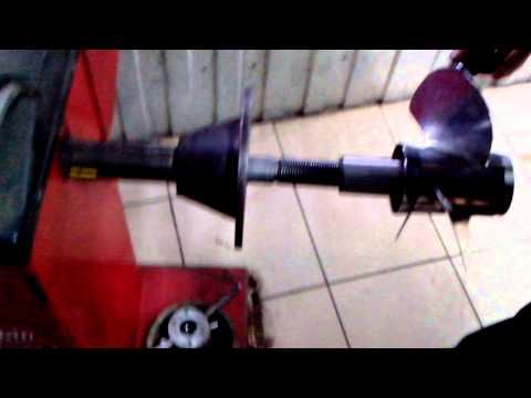 видео полировки лодочного винта