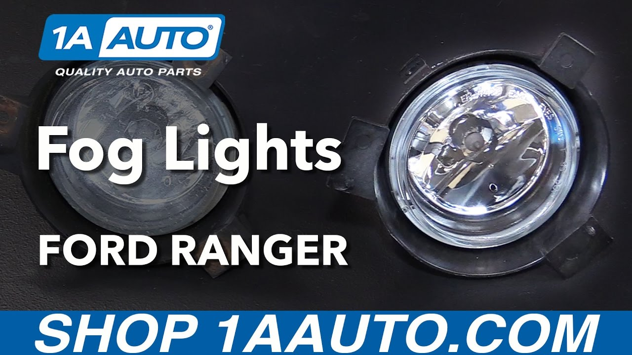 How To Replace Fog Driving Lights 01 03 Ford Ranger