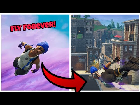 How To Fly Forever And Destroy everything (God Mode) Fortnite Glitches Season 6 PS4/Xbox one 2018