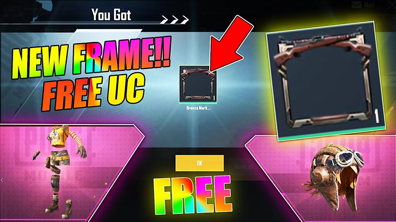 PUBG MOBILE NEW TRICK 12,NOVEMBER | GET FREE 200UC FRAME IN PUBG MOBILE | RP AND UC EVERY DAY