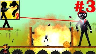 Stickman Destruction Warrior 2 Walkthrough All Levels Part 3 / Android Gameplay HD