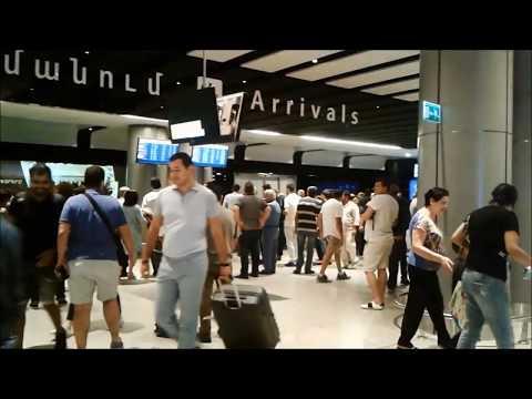 """Аэропорт Еревана """"Звартноц"""""""