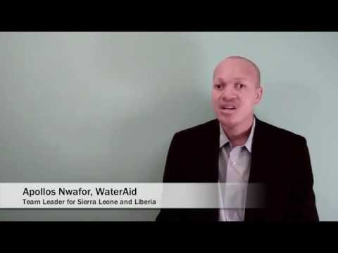 WASHfunders Flip Chat with Apollos Nwafor, Part 1