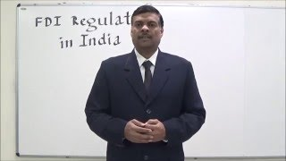 FDI Regulation in India- An Introduction in Hindi