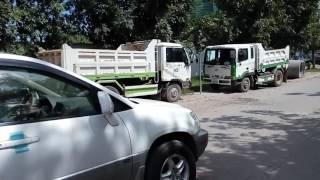 Dump truck 5t Nissan Vs Hyundai in Cambodia - ឡានបែនប្រភេទ 5t ដែលកំពង់ពេញនិយមនៅកម្ពុជាក្រុងភ្នំពេញ