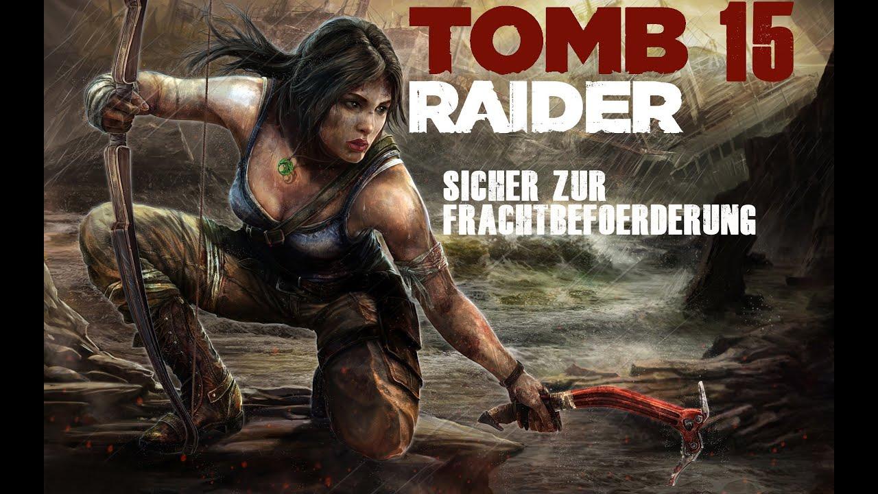 Skyrim: Tomb Raider Mod Gameplay - YouTube