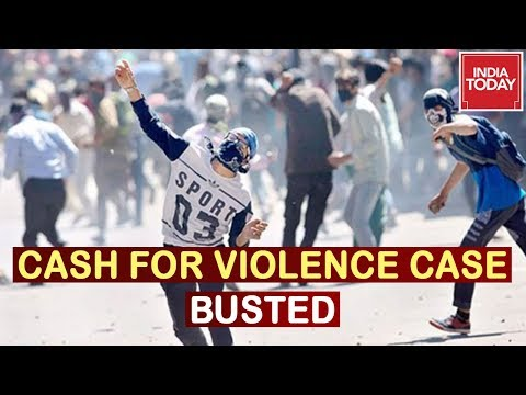 India Today Undercover Probe Reveals Cash-For-Violence Plot In Kashmir | Watch