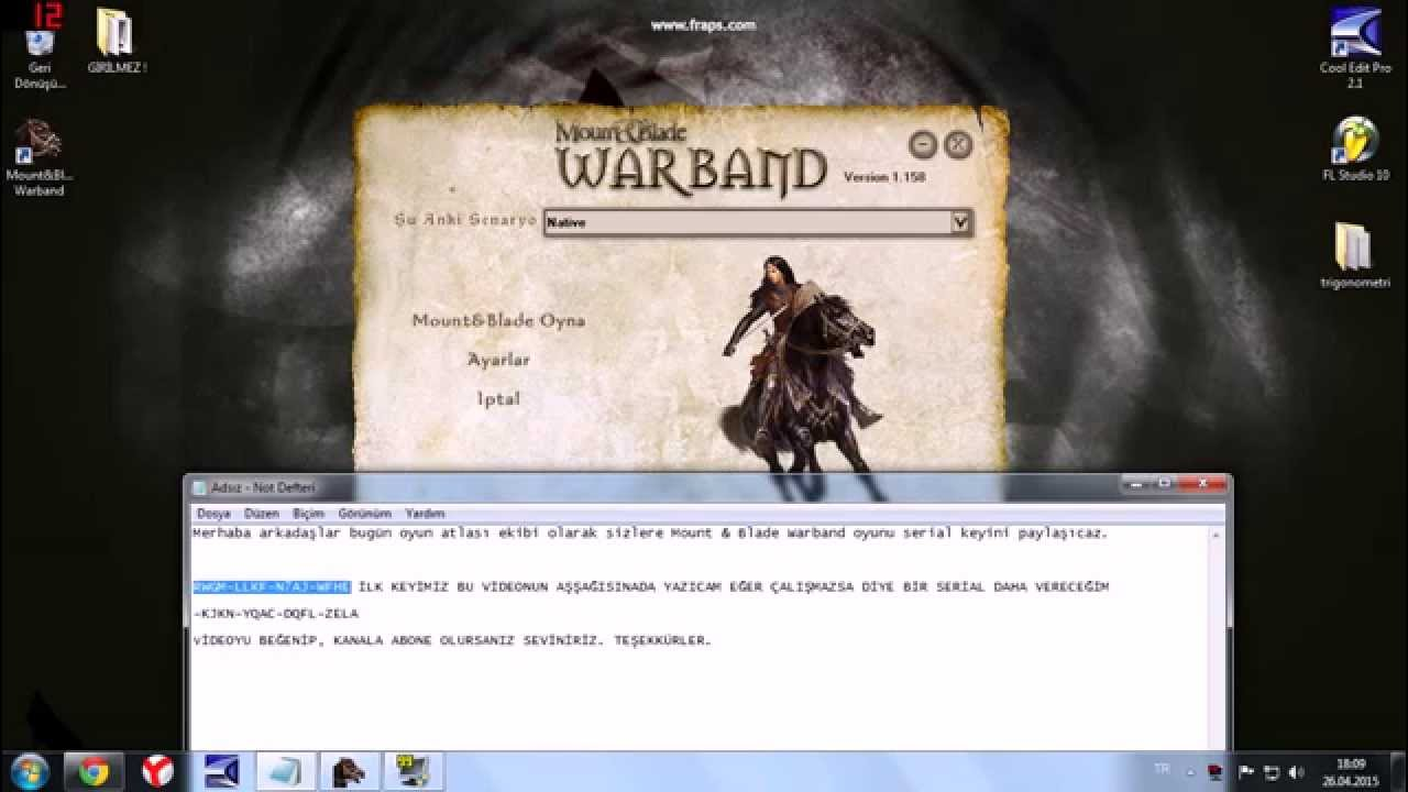 mount and blade serial key manual activation