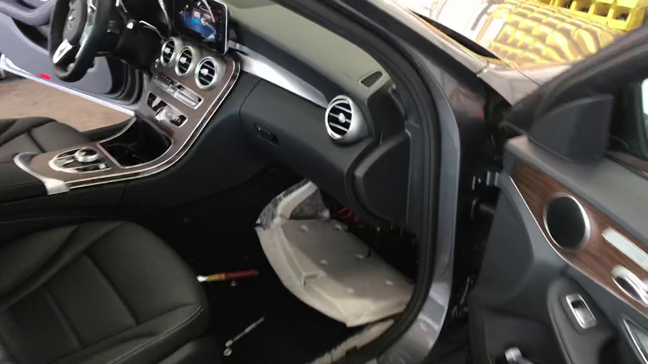 W205 Subwoofer Install