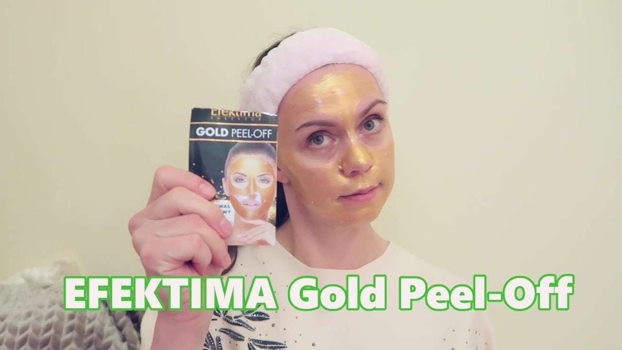 Efektima | Gold Peel-off facemask