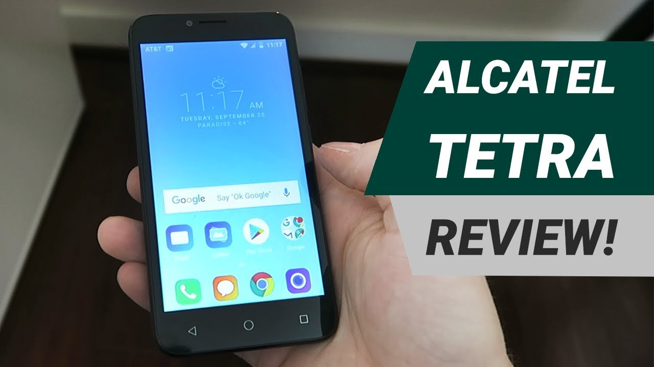 Alcatel Tetra - Complete Review!