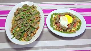 تحميل فيديو وجبة اليوم  كفتاجى بنين , بطريقة سهلة  - Kafteji - المطبخ التونسي زكية